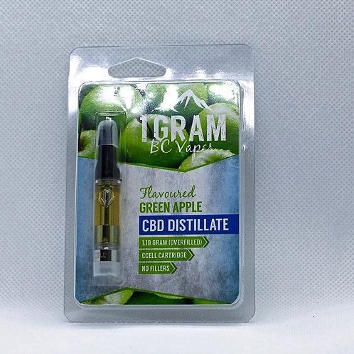 1 GRAM BC VAPES – CBD DISTILLATE