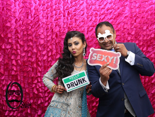 Mr. & Mrs. Patel | Wedding Photo Booth | Chutney Mary (Ember)