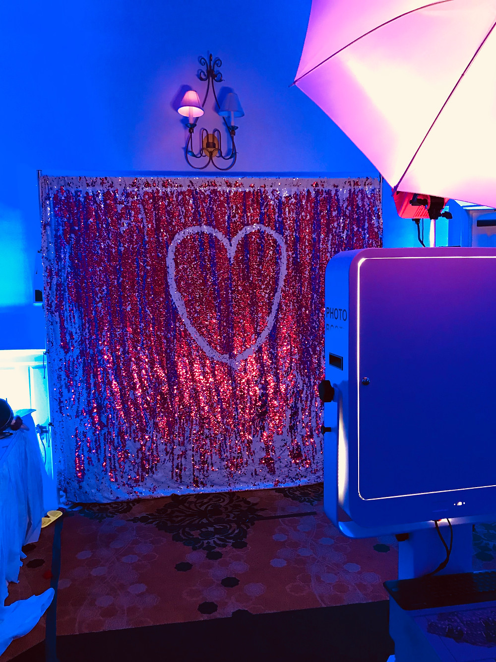 Mermaid double sided sequin backdrop