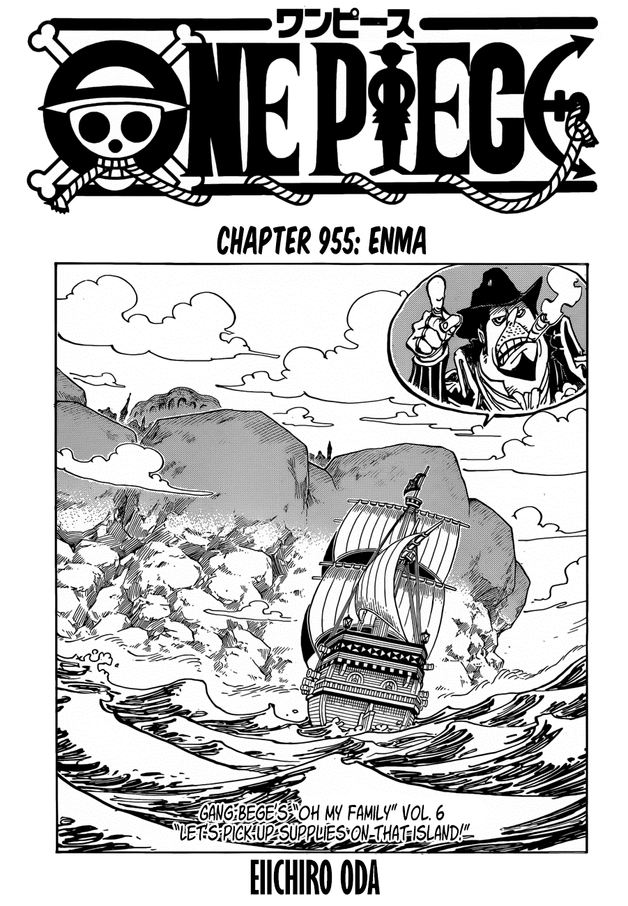 One Piece Chapter 955: Enma