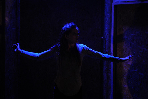 Ophelia in Curtain'd Sleep