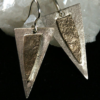 Sterling, Fine Silver Earrings -SOLD-