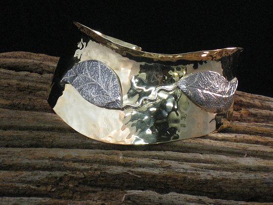 Mixed Metal Cuff Bracelet -SOLD-