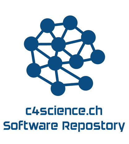 Development of a code repository (https://c4science.ch/) to support national research communities.