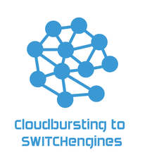Evaluation of Cloudbursting from UZH infrastructures to SWITCHEngines cloud infrastructure when resources are saturated.