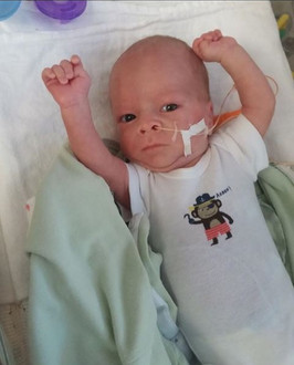 Lukas in the NICU