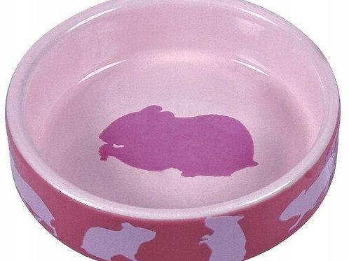 Miska ceramiczna dla chomika RÓŻ