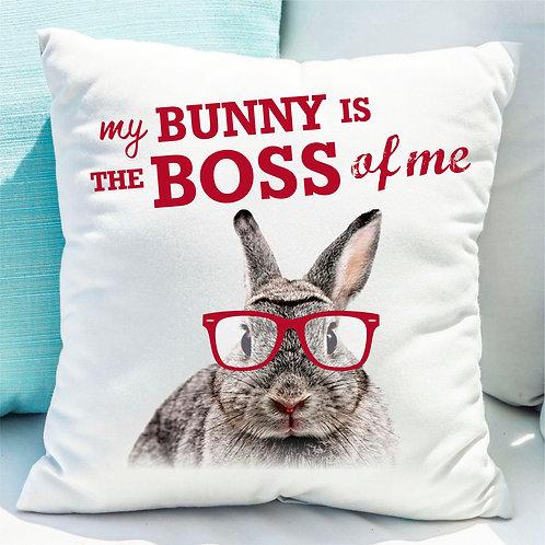 "Poduszka ""Bunny Boss"""