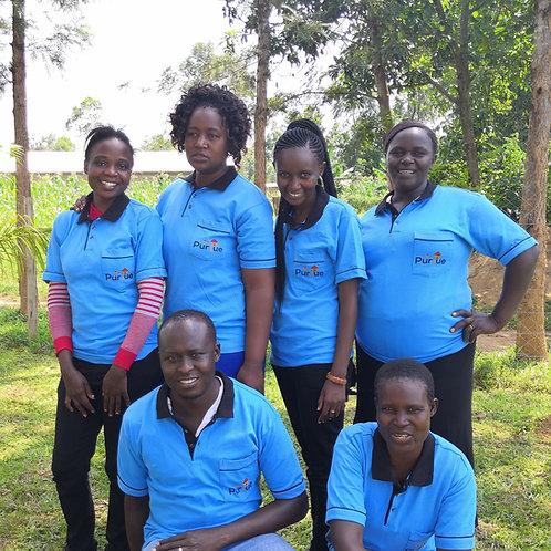 Kenyan Staff Salaries