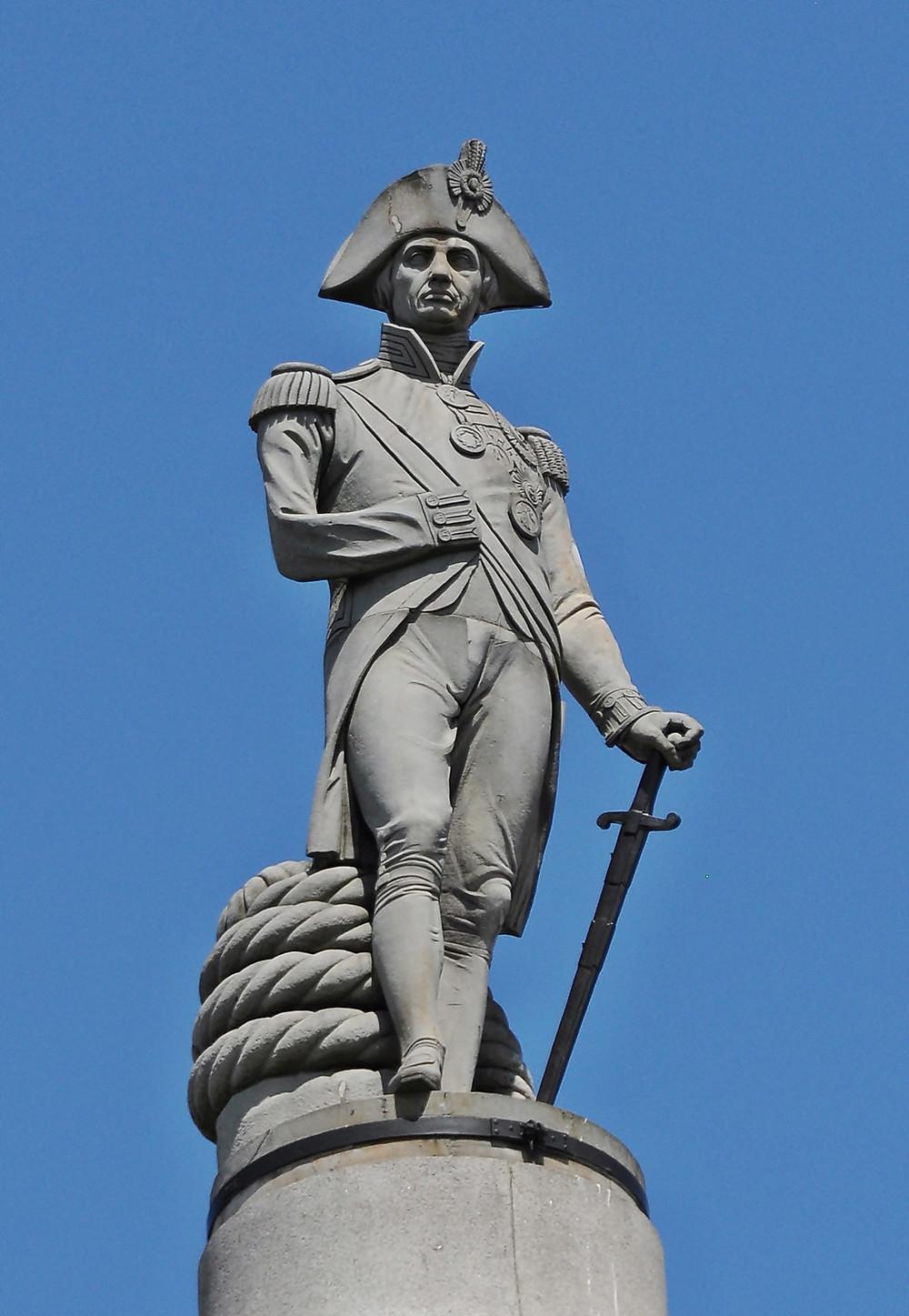 Nelson's Column in Trafalgar Sqaure