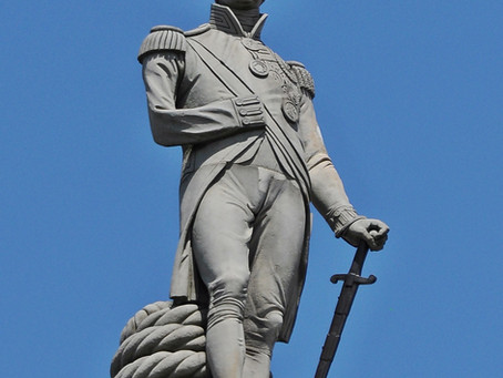 Horatio Nelson: Turning a blind eye to slavery?