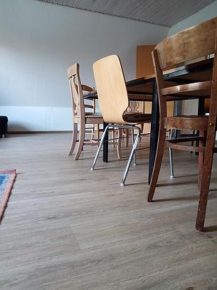 Der Gruppenraum mit einem neuen Fußboden!