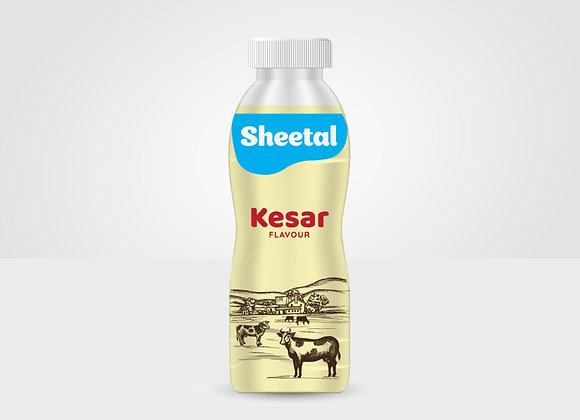 Kesar Flavoured Milk