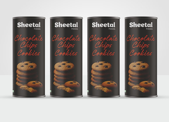 Chocolate Chips Cookies Combo Pack of 4