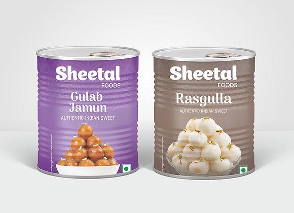 Rasgulla & Gulab Jamun Combo Pack