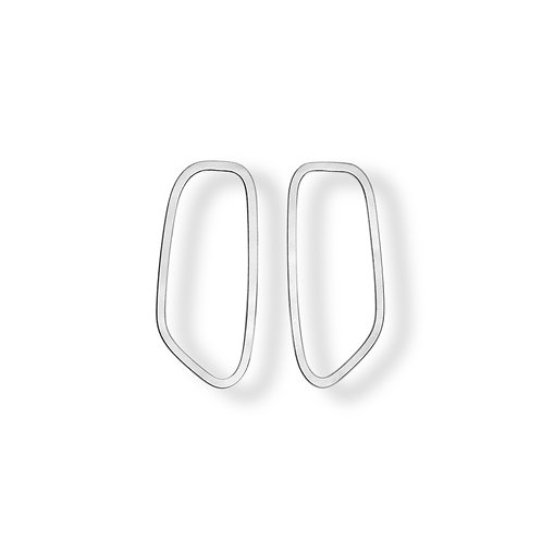 Frames - Silver earrings