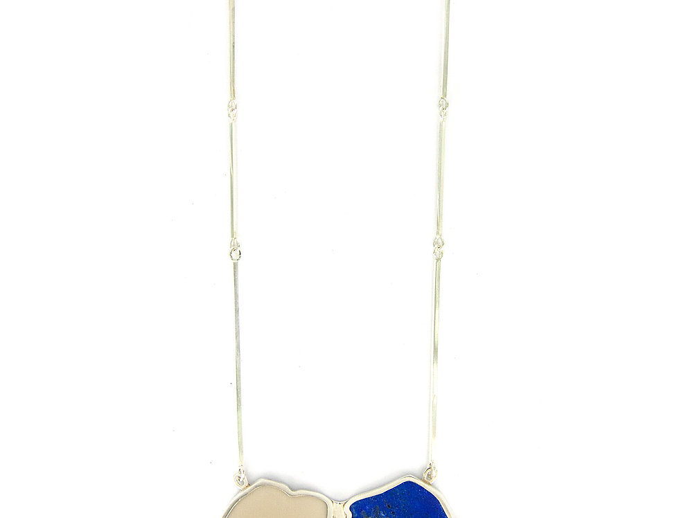 Necklace lapis