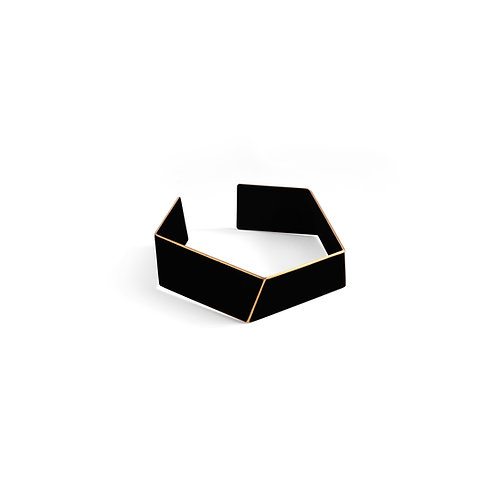 "SOLD! ""Folded"" bracelet black"