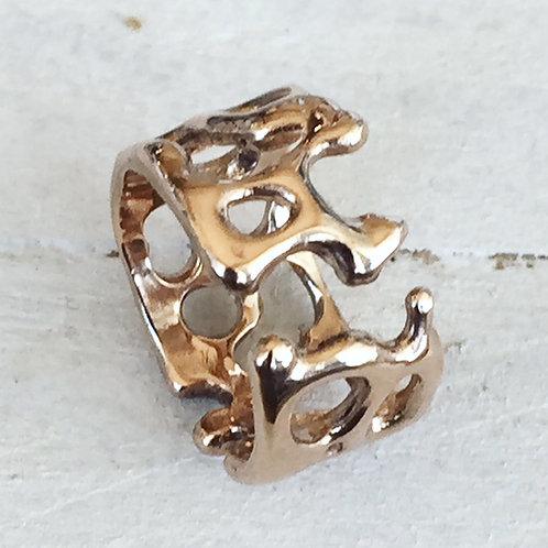 FLOW Sterling Silver Ring
