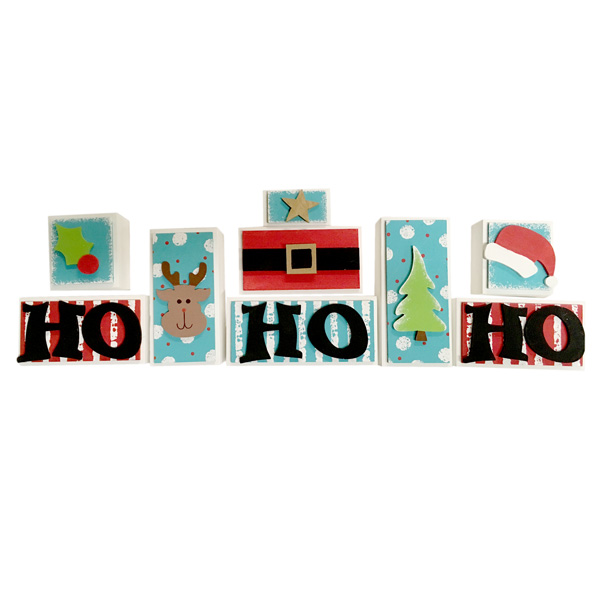 HO HO HO blocks