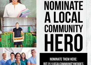Nominate a Local Community Hero