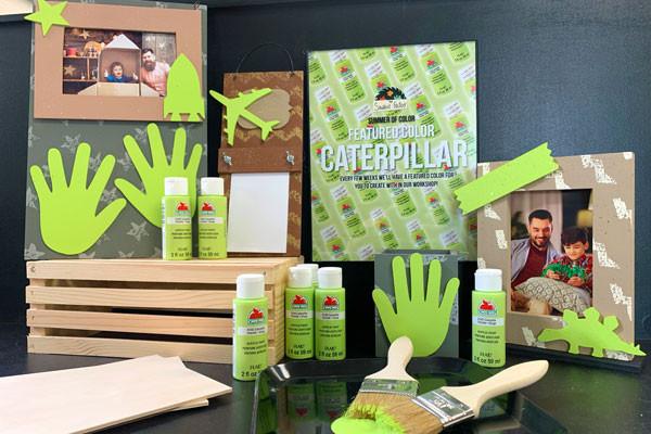Caterpillar Green