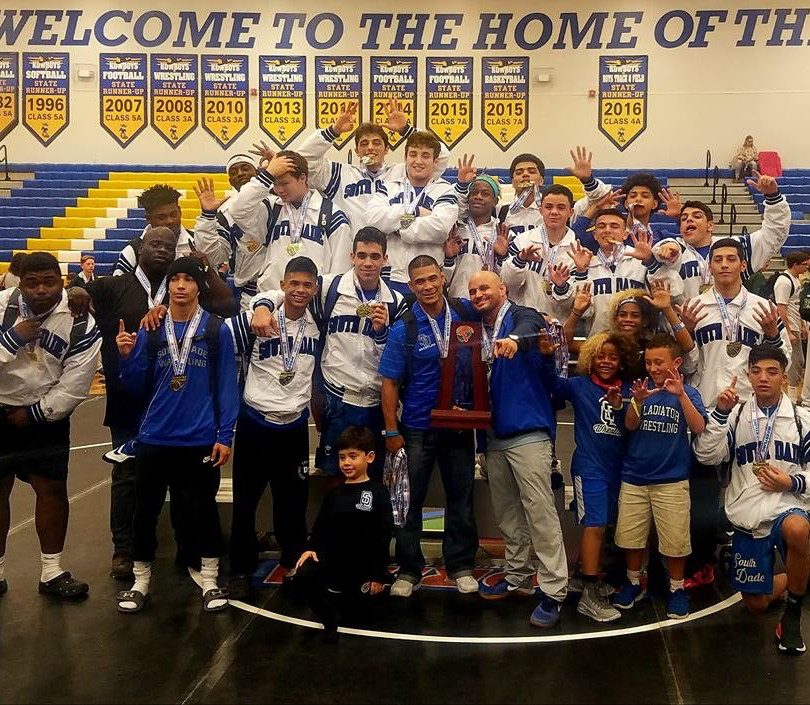 Inaugural Dual Meet State Champions in 2017