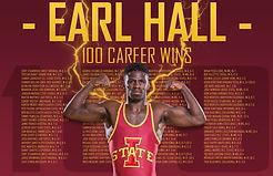 Earl Hall 100 Career Wins.jpg