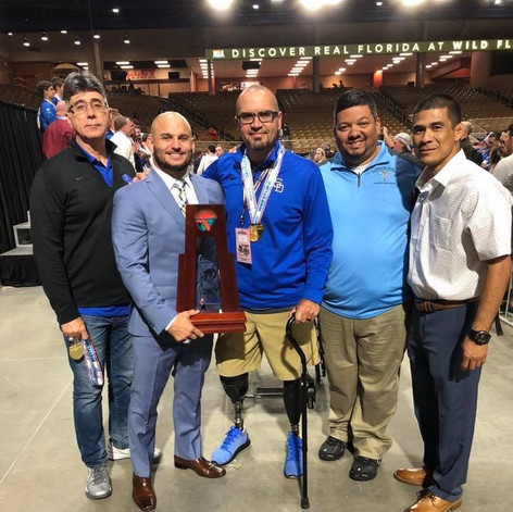 Bringing back another state trophy for both of my principals.