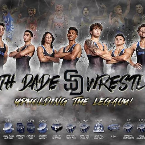 Favorite time of the year baby!!! It's Wrestling season!