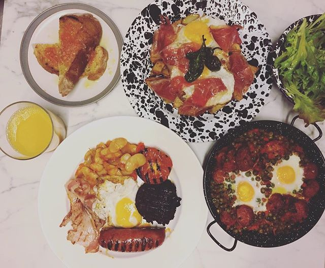 A few things from our weekend spanish brunch coming soon! 😋#spanishbrunch #unlimitedbrunch ##spanis