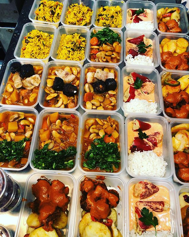 Our 7 ready meals for £50 of 4 meals for