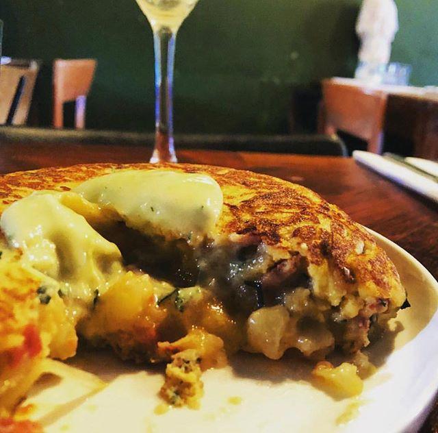 Mmmmm chorizo tortilla 😋😋#n16  #spanis