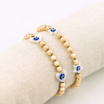 Bracelet Muse Protection (4 charms)