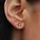 Thumbnail: Boucles d'oreilles Fleur