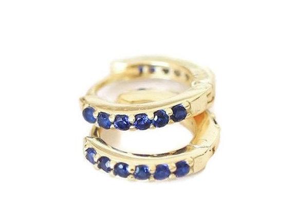 Argolas Bleu  (Unidade ou Par)