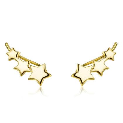 Boucles d'oreilles Étoile (PAIRE ou UNITÉ)