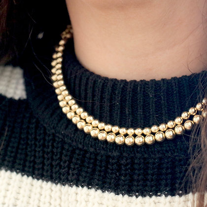 Collier Muse 8 mm