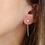 Thumbnail: Boucles d'oreilles Rosie