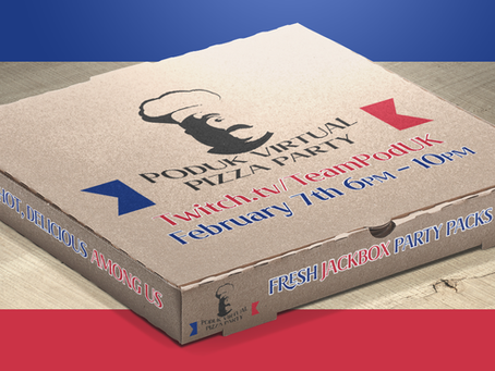 PodUK Virtual Pizza Party 2021, Return of Twitch Streaming!