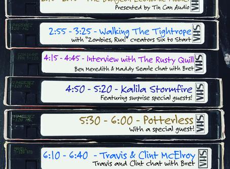 PodUK Goes Digital Schedule -Livestream & Workshops