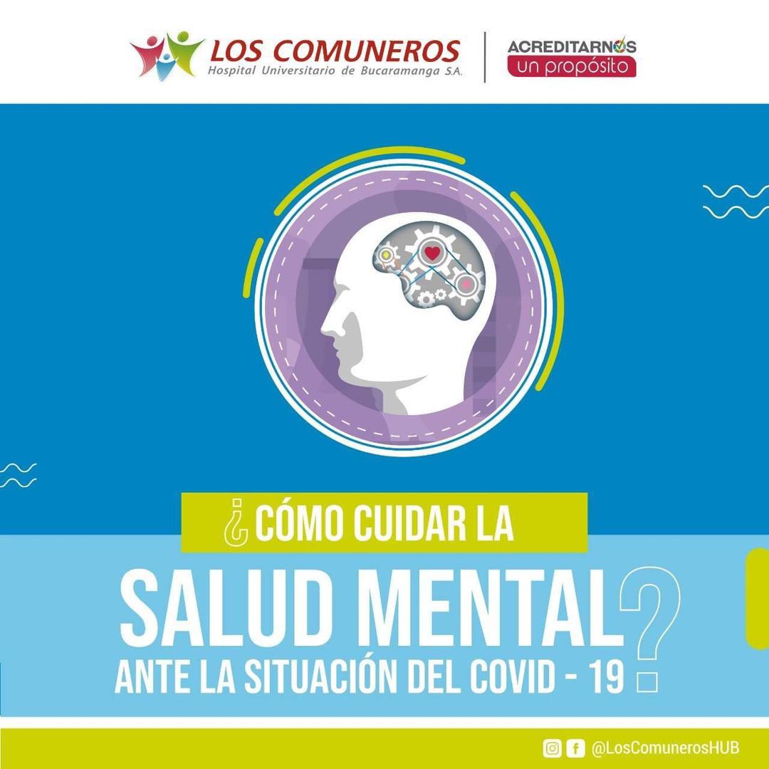 ¿Cómo cuidar la salud mental ante la contingencia del COVID-19?