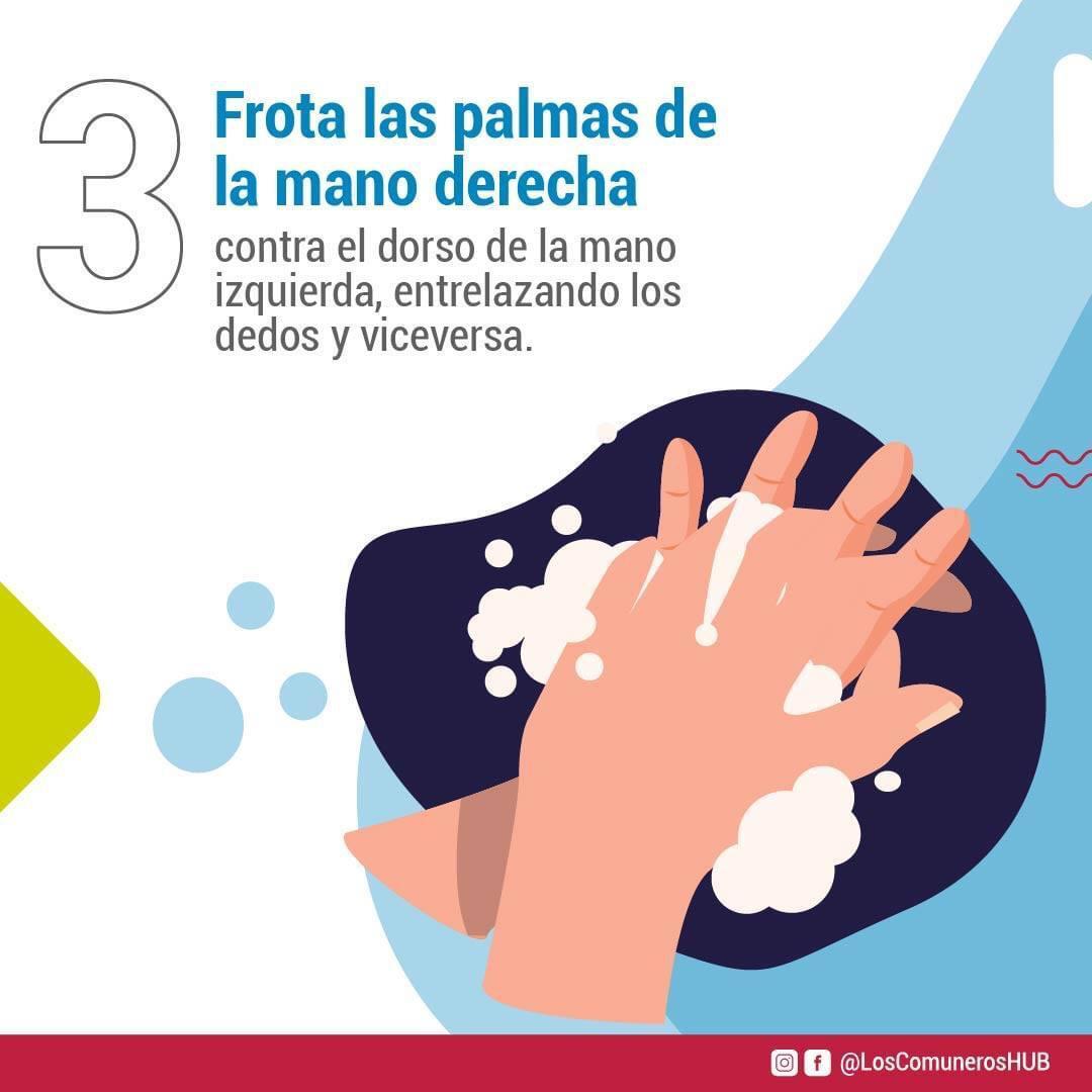 ¿Cómo hacer un correcto lavado de manos?