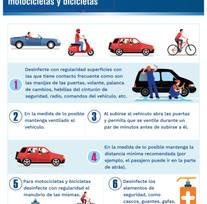Medidas para el uso de vehículos