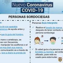 Recomendaciones para prevenir el Covid19 en personas en condición de discapacidad