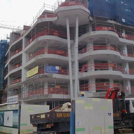 我司承建新加坡圣淘沙超豪华公寓