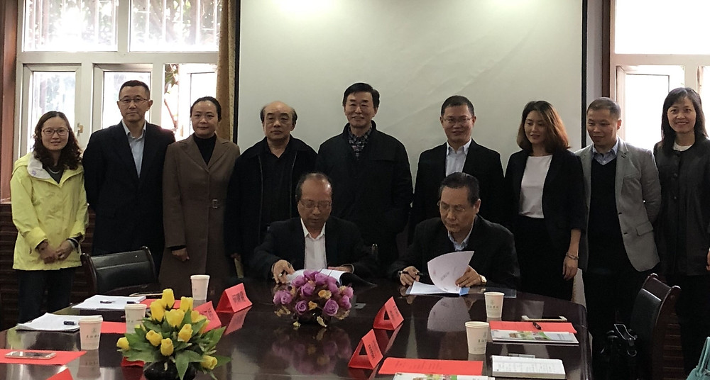 校企双方签署合作协议书