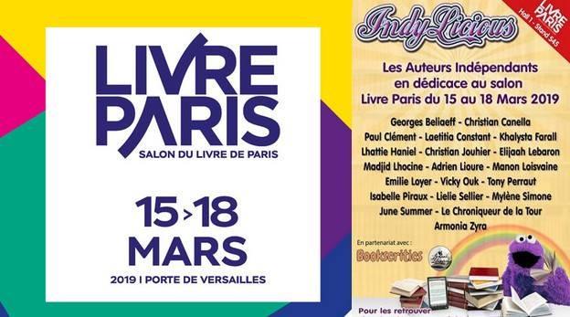 Salon du Livre Paris dédicace June Summer