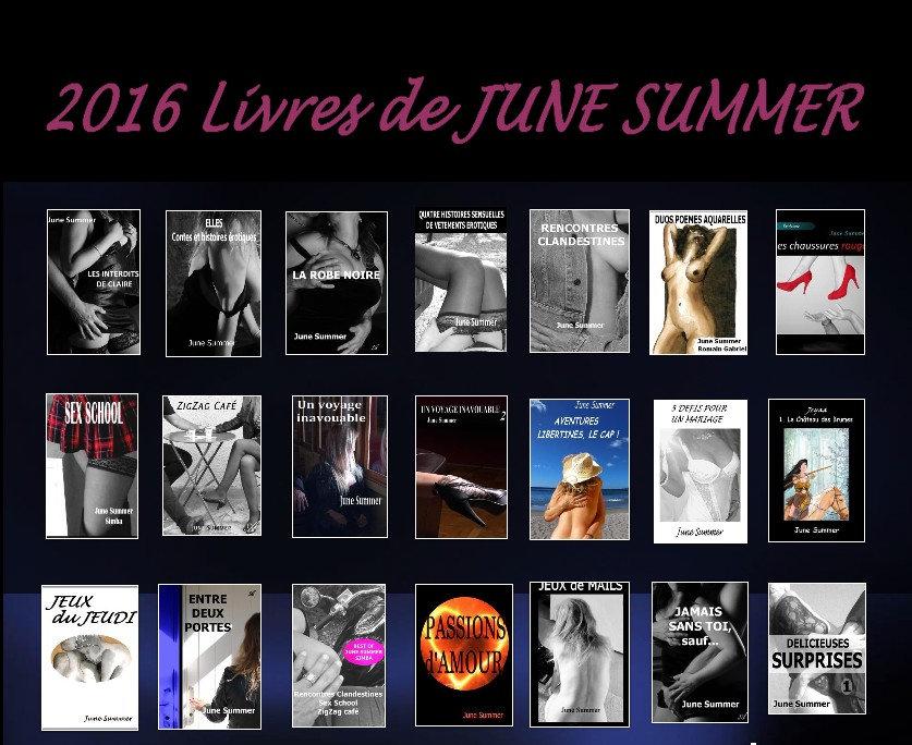livres érotiques June Summer