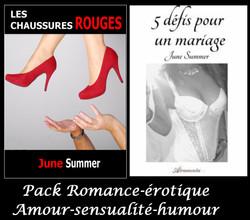 Pack Romance érotique  27.90 euros